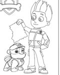 PAW Patrol Free Online Coloring Pages