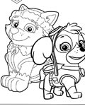 PAW Patrol Online Coloring Pages for boys