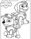 PAW Patrol Online Coloring Pages for girls