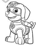 PAW Patrol Free Coloring Pages