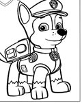 PAW Patrol Free coloring pages for boys