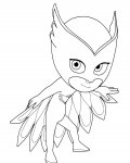 PJ Masks Printable Coloring Pages