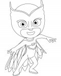 PJ Masks Printable coloring pages for girls