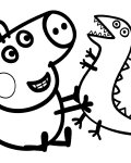 Peppa Pig Printable Coloring Pages