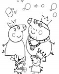Peppa Pig Printable coloring pages online