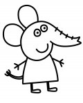 Peppa Pig Free Online Coloring Pages