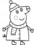 Peppa Pig Free printable coloring pages