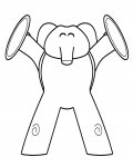 Pocoyo Free printable coloring pages