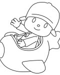 Pocoyo Coloring Pages for boys