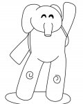 Pocoyo Free coloring pages for boys