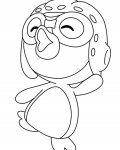 Pororo the Little Penguin Free Online Coloring Pages
