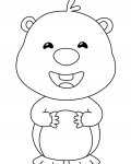 Pororo the Little Penguin Online Coloring Pages for boys