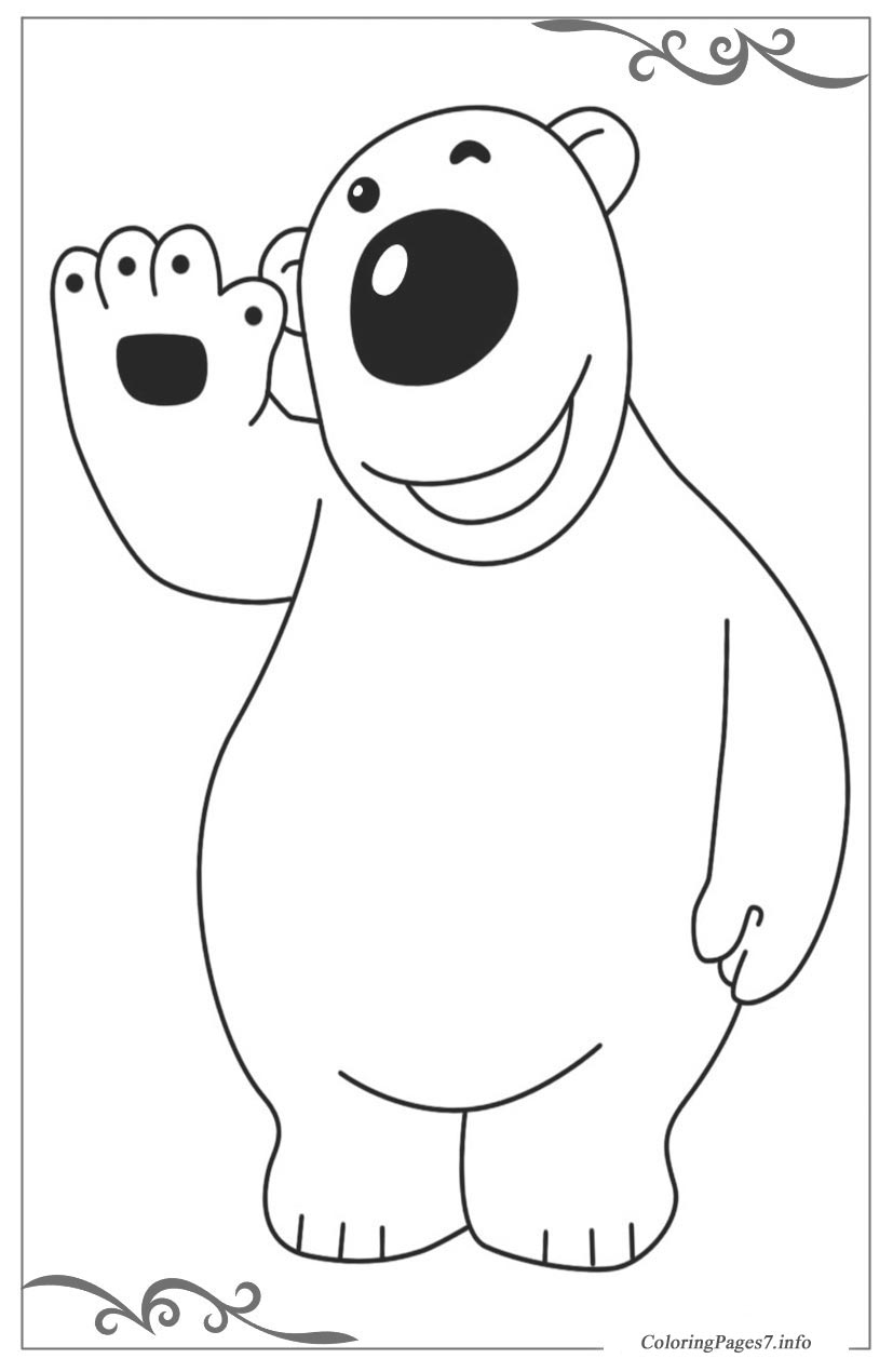 Pororo the little penguin download free coloring pages for for Pororo coloring pages