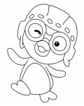 Pororo the Little Penguin Download coloring pages