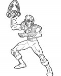 Power Rangers Printable coloring pages for girls