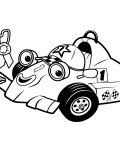 Roary the Racing Car Printable Coloring Pages