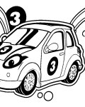 Roary the Racing Car Printable coloring pages for girls