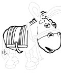 Roary the Racing Car Tracing Coloring Page for kids