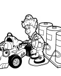 Roary the Racing Car Free Online Coloring Pages