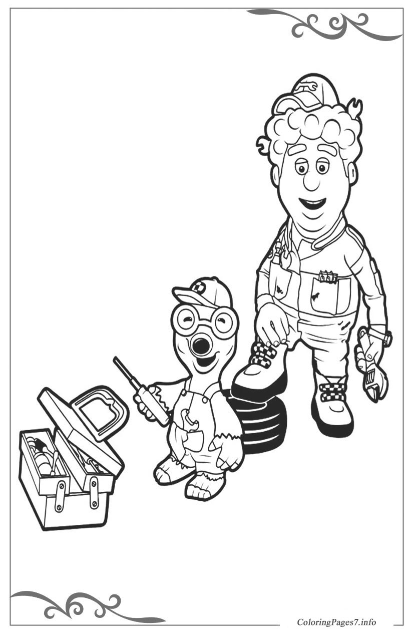 roary the racing car online coloring pages for boys