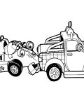 Roary the Racing Car Coloring page template printing