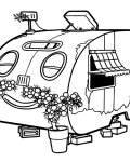 Roary the Racing Car Coloring Pages for boys
