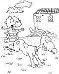 Rugrats Printable coloring pages for girls