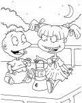Rugrats Printable coloring pages online