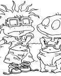 Rugrats Online Coloring Pages for girls