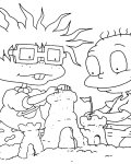 Rugrats Free coloring pages for boys