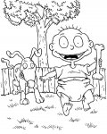 Rugrats Download and print coloring pages for kids