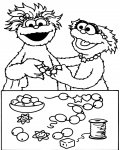 Sesame Street Coloring Page for your Little Ones