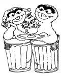 Sesame Street Free printable coloring pages