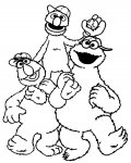 Sesame Street Download and print coloring pages for kids