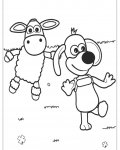 Shaun the sheep Coloring Pages for boys