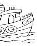 Ships Printable coloring pages for girls