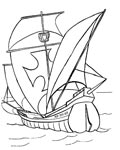 Ships Printable coloring pages online