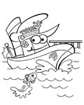Ships Online Coloring Pages for boys