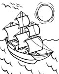 Ships Free Coloring Pages