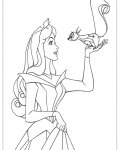 Sleeping Beauty Printable Coloring Pages