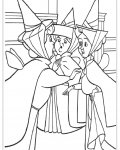 Sleeping Beauty Coloring Page for your Little Ones