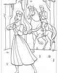 Sleeping Beauty Free printable coloring pages