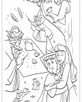 Sleeping Beauty Free Coloring Pages