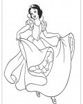 Snow White Coloring Page for your Little Ones
