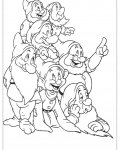 Snow White Printable coloring pages for girls