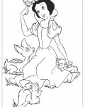 Snow White Download and print coloring pages for kids