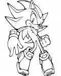 Sonic X Printable Coloring Pages