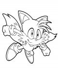 Sonic X Coloring Page for your Little Ones