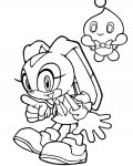 Sonic X Free Online Coloring Pages
