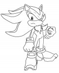 Sonic X Online Coloring Pages for boys